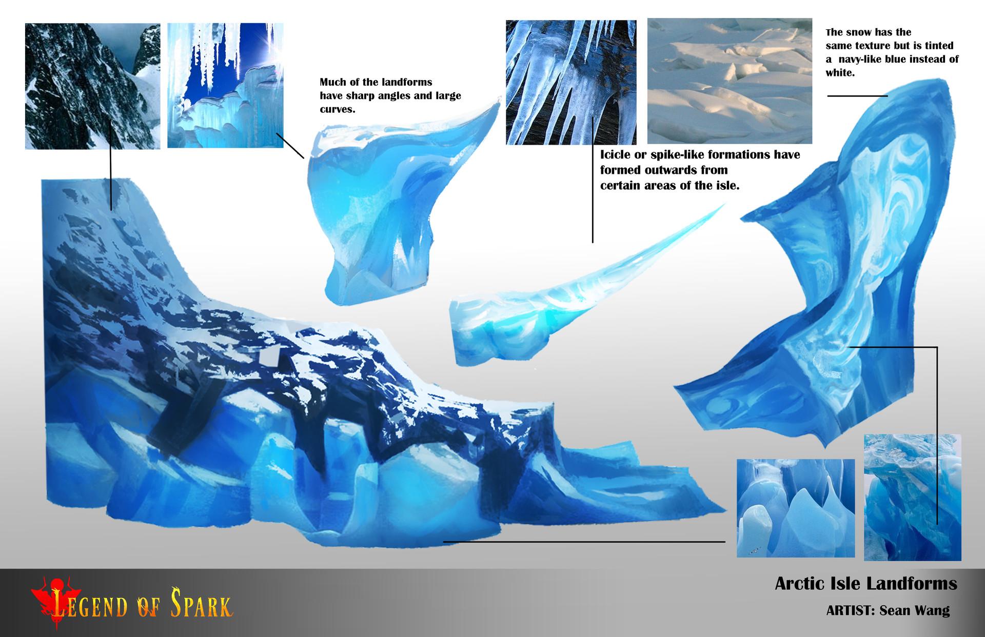 The Landscape design of the Arctic Temple