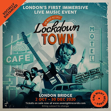 One Night Records Lockdown Town main pos
