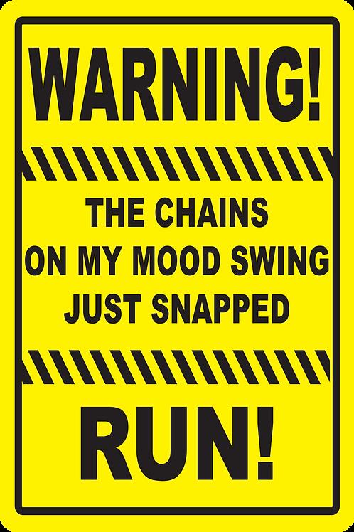 SignMood Swing Sign