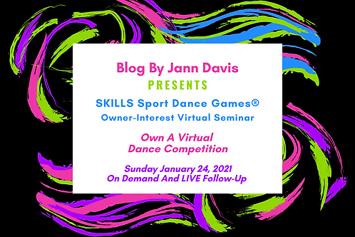 SKILLS Sport Dance Game® Owner Seminar