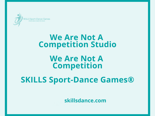 We Are Not A Competition Studio