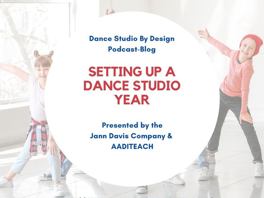 Setting Up A Studio Dance Year