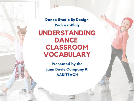Understanding Dance Classroom Vocabulary