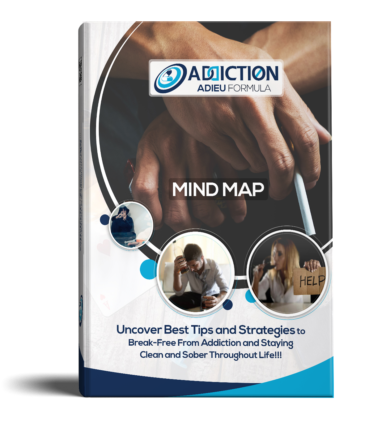 Addiction Adieu Formula Mind Map Design