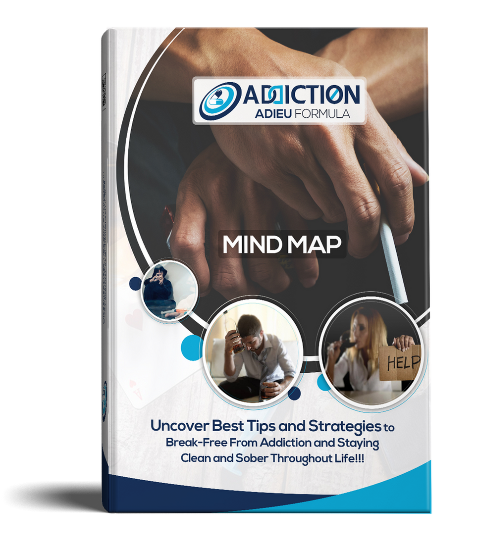 Addiction Adieu Formula Mind Map Design