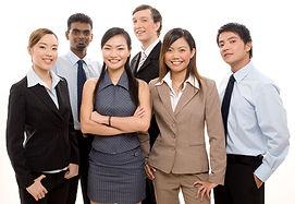 bigstockphoto_Happy_Business_Team_204575