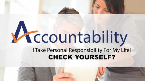 Accountability - Overcome Your Fears!