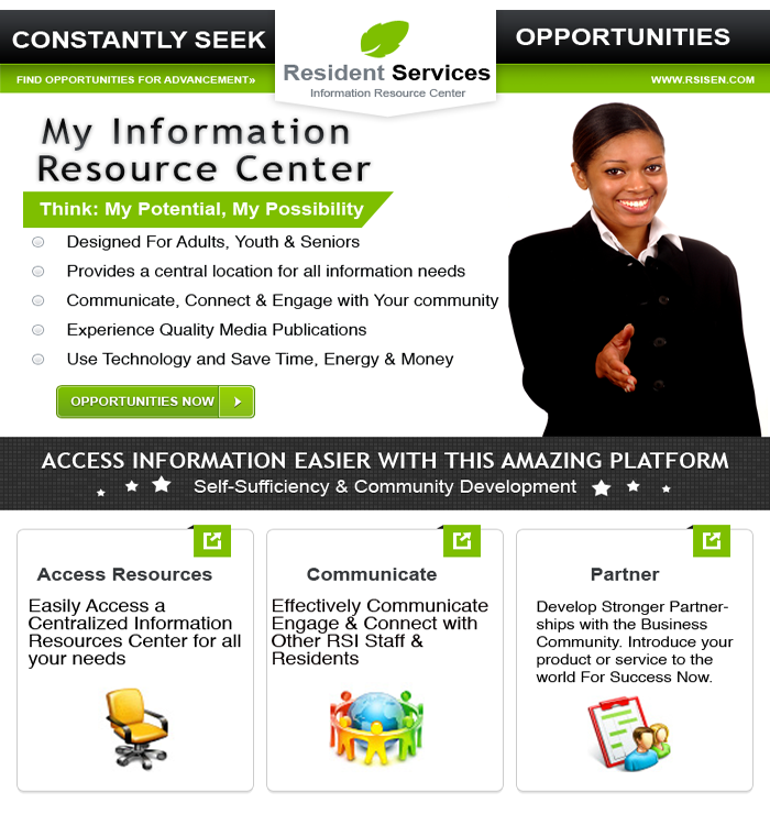 Welcome To Our Information Resources