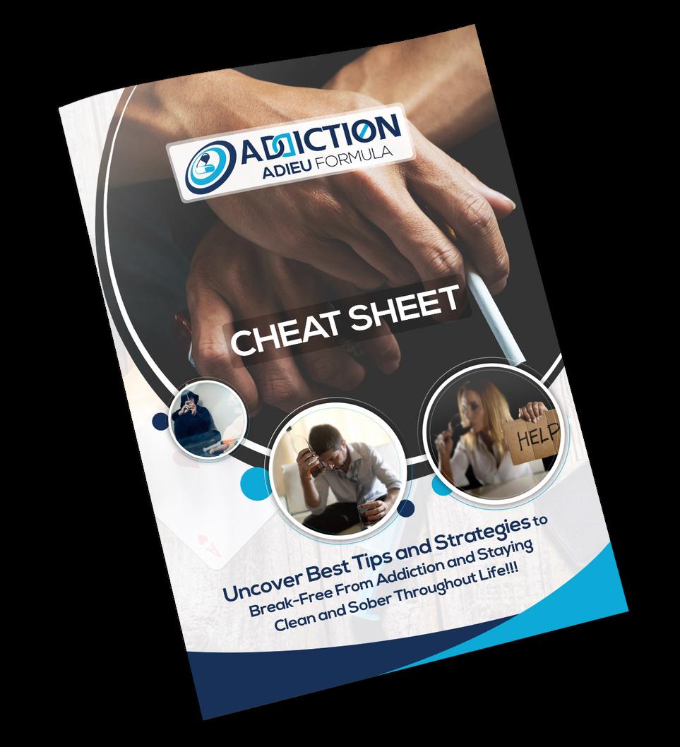 Addiction Adieu Formula Cheat Sheet Desi