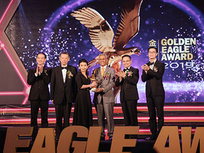 iBiZZtax was awarded the Emerging Golden Eagle Award 2019