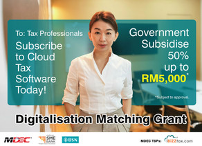 iBiZZtax has been appointed as one of the Providers (TSP) for The SME Business Digitalisation Grant