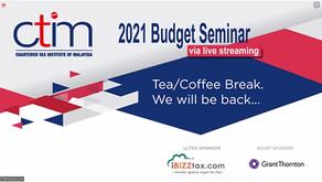 iBiZZtax.com® is the Ultra Sponsor for the CTIM 2021 Budget Seminars