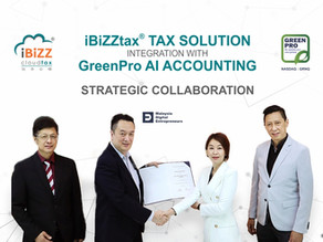 iBiZZtax® Cloud Integration with GreenPro AI Accounting Strategic Collaboration