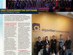iBiZZtax Cloud & ALgoBiZZ Berhad on NEW STRAITS TIMES and other media press