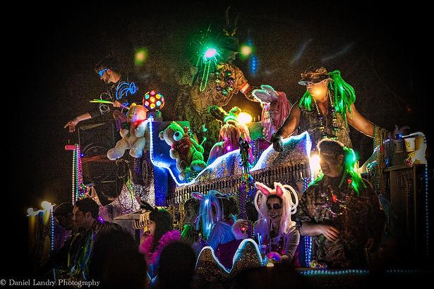 Mardi Gras Parade in Lafayette, LA.
