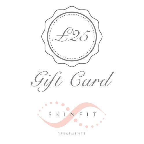 SkinFit £25.00 Gift Card