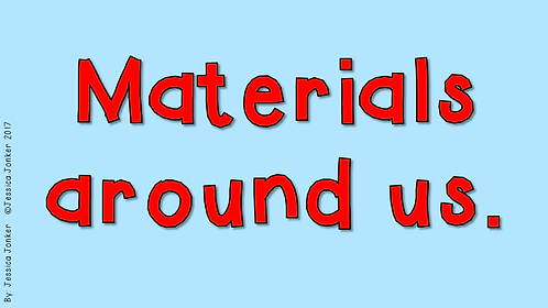 Materials around us (Gr.4 - NS - Term 2)