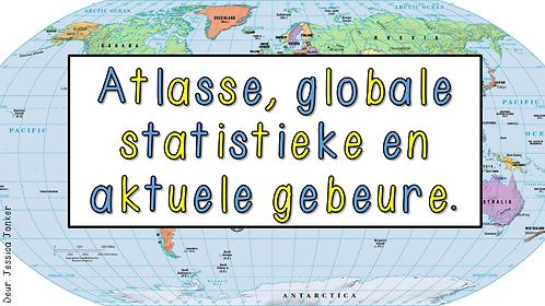 Atlasse, globale statistieke & aktuele gebeure (Gr.6 - SW - Kw #1)