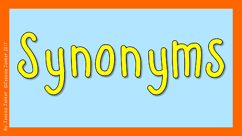 Synonyms (Gr.5 - ENG FAL. - Term 2)