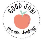 'GOOD JOB' PERSONALISED STICKERS