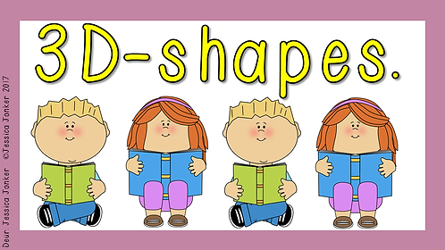 3-D Shapes (Gr.4 - Math. - Term 2)
