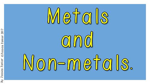 Metals & Non-metals (Gr.5 - NS - Term 2)