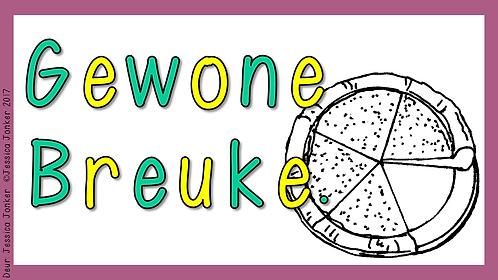 Gewone Breuke (Gr.4 - Wiskunde - Kw #2)
