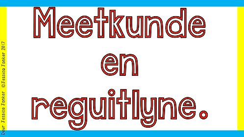 Meetkunde & Reguitlyne (Gr.7 - Wiskunde - Kw #1)