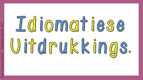 Idiomatiese Taalgebruik Gr.5 - AFR HT. - Kw #2)