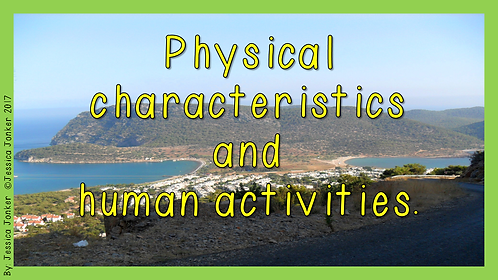 Physical Features & Human Activities (Gr.5 - SS - Term 2)