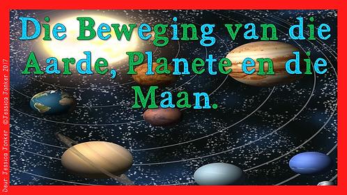 Die Beweging van die Aarde, Planete & die Maan (Gr.6 - NW. - Kw #4)
