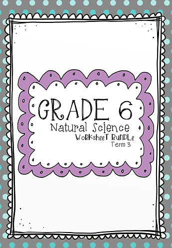 Grade 5 - NS - Worksheet Bundle - Term 3
