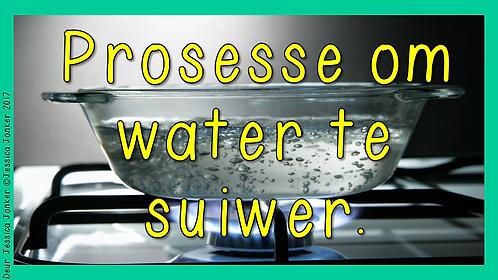 Prosesse om water te suiwer (Gr.6 - NW - Kw #2)