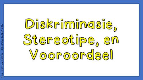 Diskriminasie, Stereotipe en Vooroordeel (Gr.5 - LV - Kw #2)