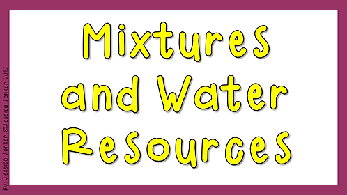Mixtures & Water Resources (Gr.6 - NS - Term)