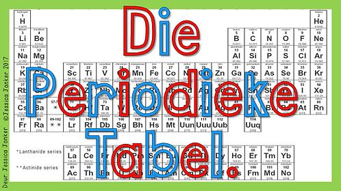 Die Periodieke Tabel (Gr.7 - NW - Kw #2)