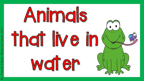 Animals that live in water (Gr.2 - LS - Term 2)