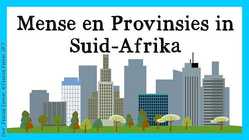 Mense & Provinsies in Suid-Afrika (Gr.6 - SW. - Kw #4)