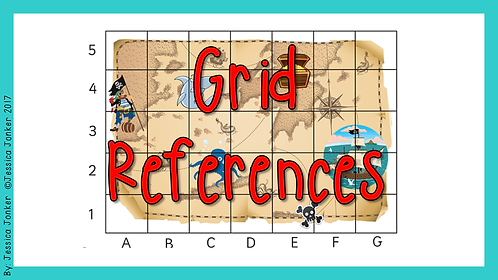 Grid References (Gr.4 - SS - Term 2)