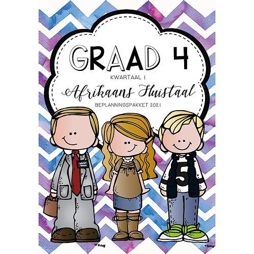 GRAAD 4 - AFRIKAANS HT. - KWARTAAL 1 - 2021