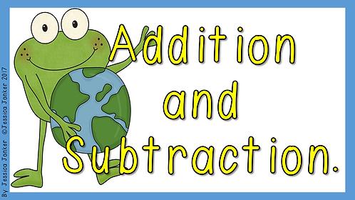 Addition & Subtraction (Gr. 3 - Math. - Term 2)