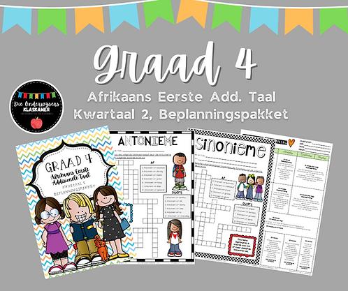 GRAAD 4 - AFRIKAANS EAT. - KWARTAAL 2 - 2021