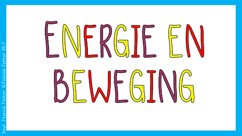 Energie & Beweging (Gr.5 - NW - Kw #3)