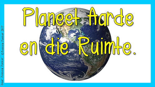 Planeet Aarde & Die Ruimte (Gr.4 - NW - Kw #4)