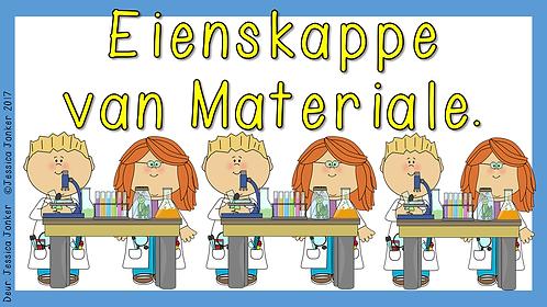 Eienskappe van materiale (Gr.7 - NW - Kw #2)