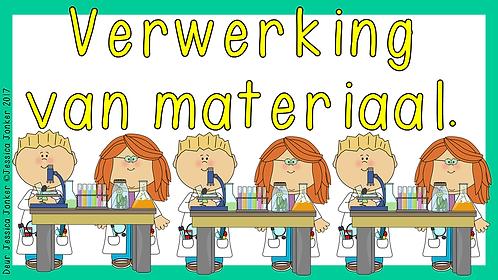 Verwerking van materiale (Gr.5 - NW - Kw #2)
