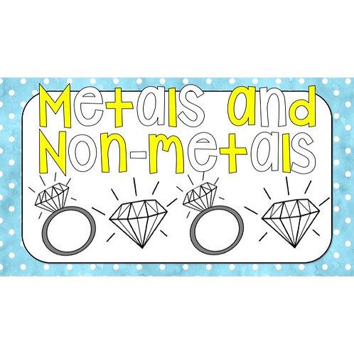GRADE 5 NATURAL SCIENCE TERM 2: METALS AND NON-METALS