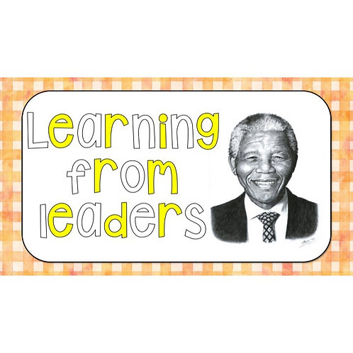 GRADE 4 SOCIAL SCIENCE TERM 2 TOPIC: LEARNING FROM LEADERS