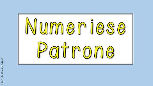 Numeriese Patrone (Gr.4 - Wisk. - Kw #3)