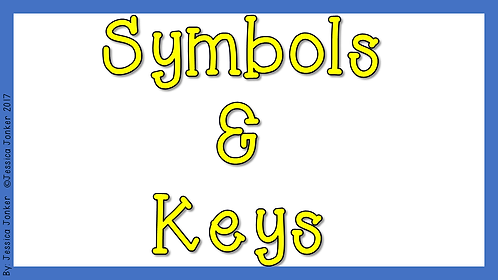 Symbols & Keys (Gr.4 - SS - Term 2)
